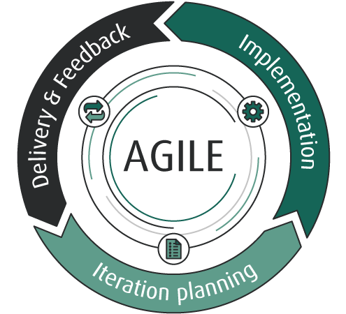 Process of the Agile Software Development Methodology. The best way of work for each software development team.