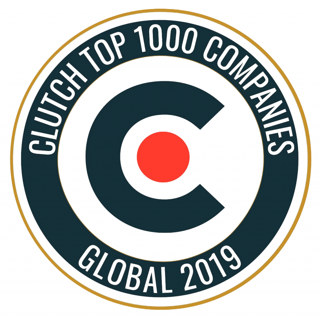 JCommerce at the Clutch Top 1000 Companies Global 2019 list